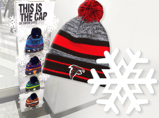Graphic Systems - New Era Holiday Hat Display