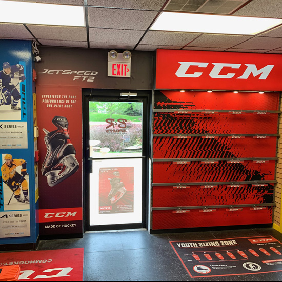 CCM Skate Wall Store Front - Graphic Systems