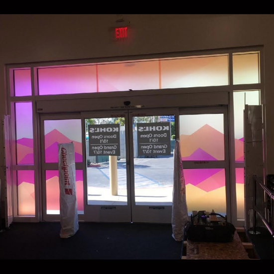Kohls Store Front - Graphic Systems