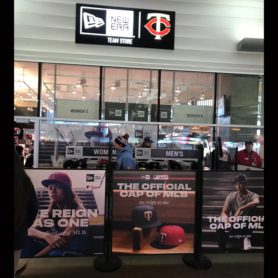 New Era Store Front - Graphic Systems