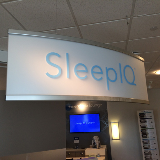 Sleep Number Signage - Graphic Systems