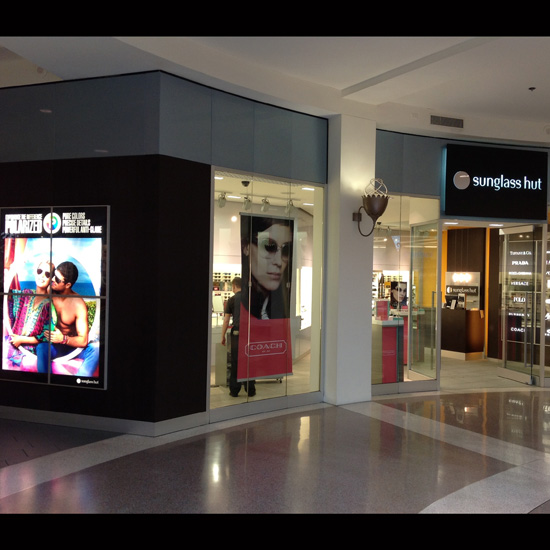 Sunglass Hut Store Front - Graphic Systems
